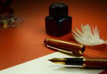 pisać piórem wiecznym